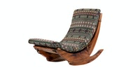 Seamus Furniture Honore Kursi Goyang Tribal