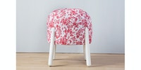 Seamus Furniture Classic Rose Round Puff Stool