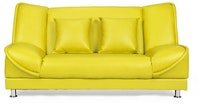 Doumi Betty Sofa Bed Kuning Lemon