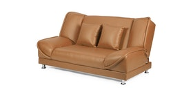 Doumi Betty Sofa Bed Cokelat Caramel