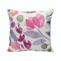 Seruni Living Cushion Cover Bunga Lavatera - 02 45x45cm