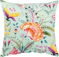 Seruni Living Cushion Cover Anyelir Hijau 45x45cm