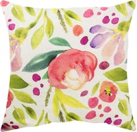 Seruni Living Cushion Cover MariGold Pink 45x45cm