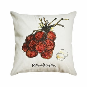 Seruni Living Cushion Cover (Rambutan) 45x45cm