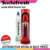 Sodafresh Soda Maker M410 - Value Set - Red - DrinkMate style