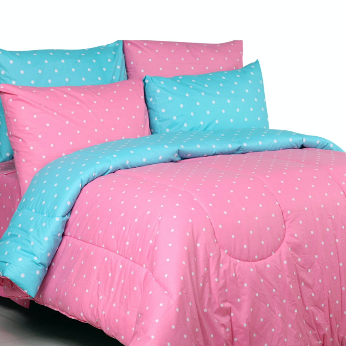 Sierra Bed Cover Dan Sprei Dottie Candy Mix Dottie Tosca 180x200