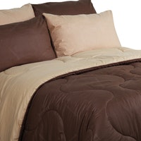 Sierra Bed Cover Dan Sprei Polos Coffee Mix Mocca 120x200