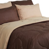 Sierra Bed Cover Dan Sprei Polos Coffee Mix Mocca 180x200