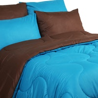 Sierra Bed Cover Dan Sprei Polos Coffee Mix Tosca 120x200