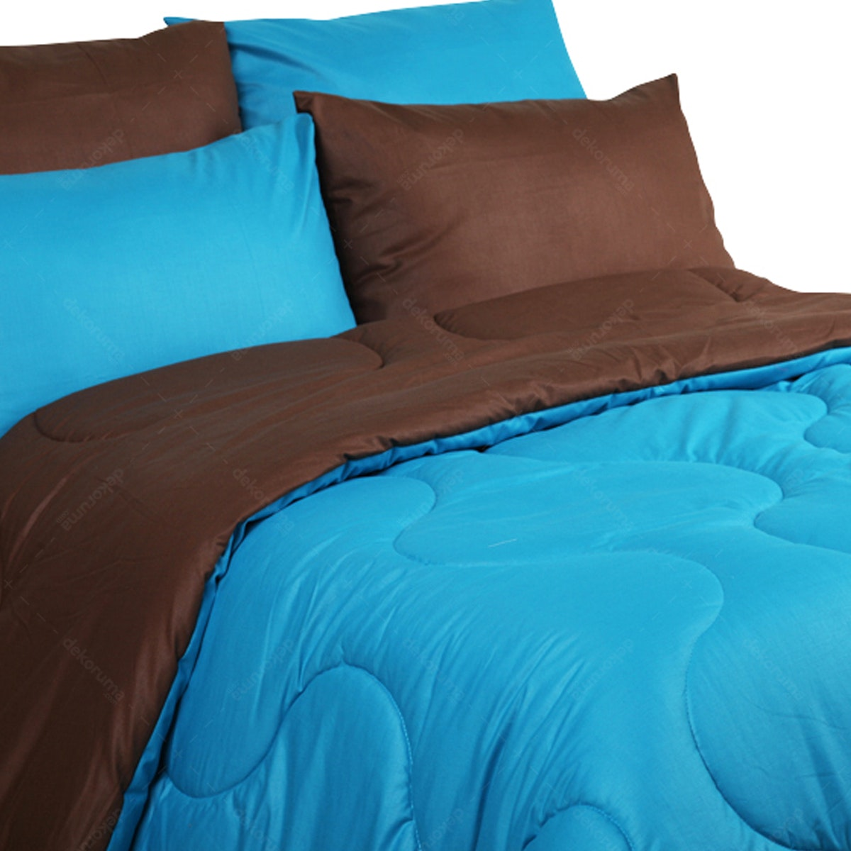 Sierra Bed Cover Dan Sprei Polos Coffee Mix Tosca 160x200