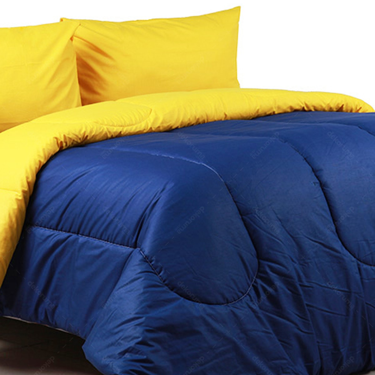 Sierra Bed Cover Dan Sprei Polos Alaska Mix Egg Yolk 160x200