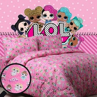 Sierra Sprei LOL party pink 160x200