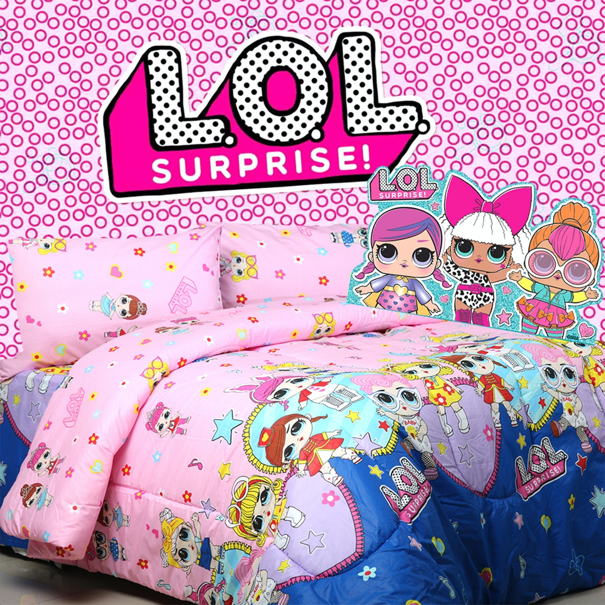 Sierra Sprei LOL lovers 180x200