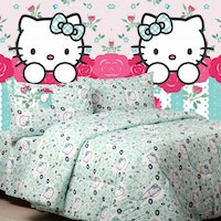 Sierra Sprei Kitty blooming tosca 120x200