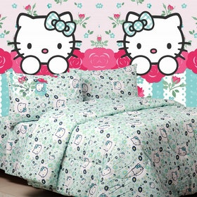 Sierra Sprei Kitty blooming tosca 160x200