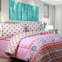Sierra Sprei LV pop up pink x dottie 100x200