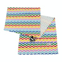 Stiletto Living Cover Kulkas - Rainbow Chevron