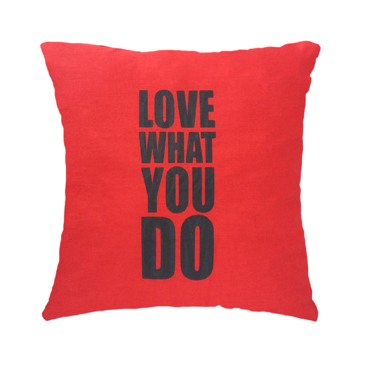 Stiletto In Style Cushion Cover Love What You Do (Red) 40 X 40Cm