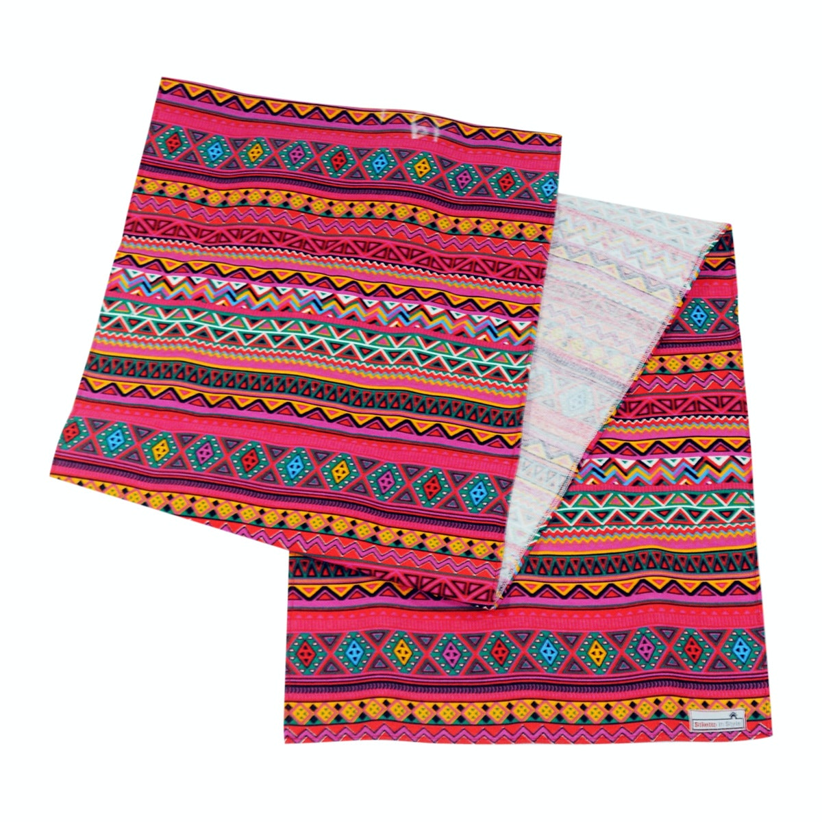 Stiletto Living Table Runner / Taplak Meja - Tribal Pink