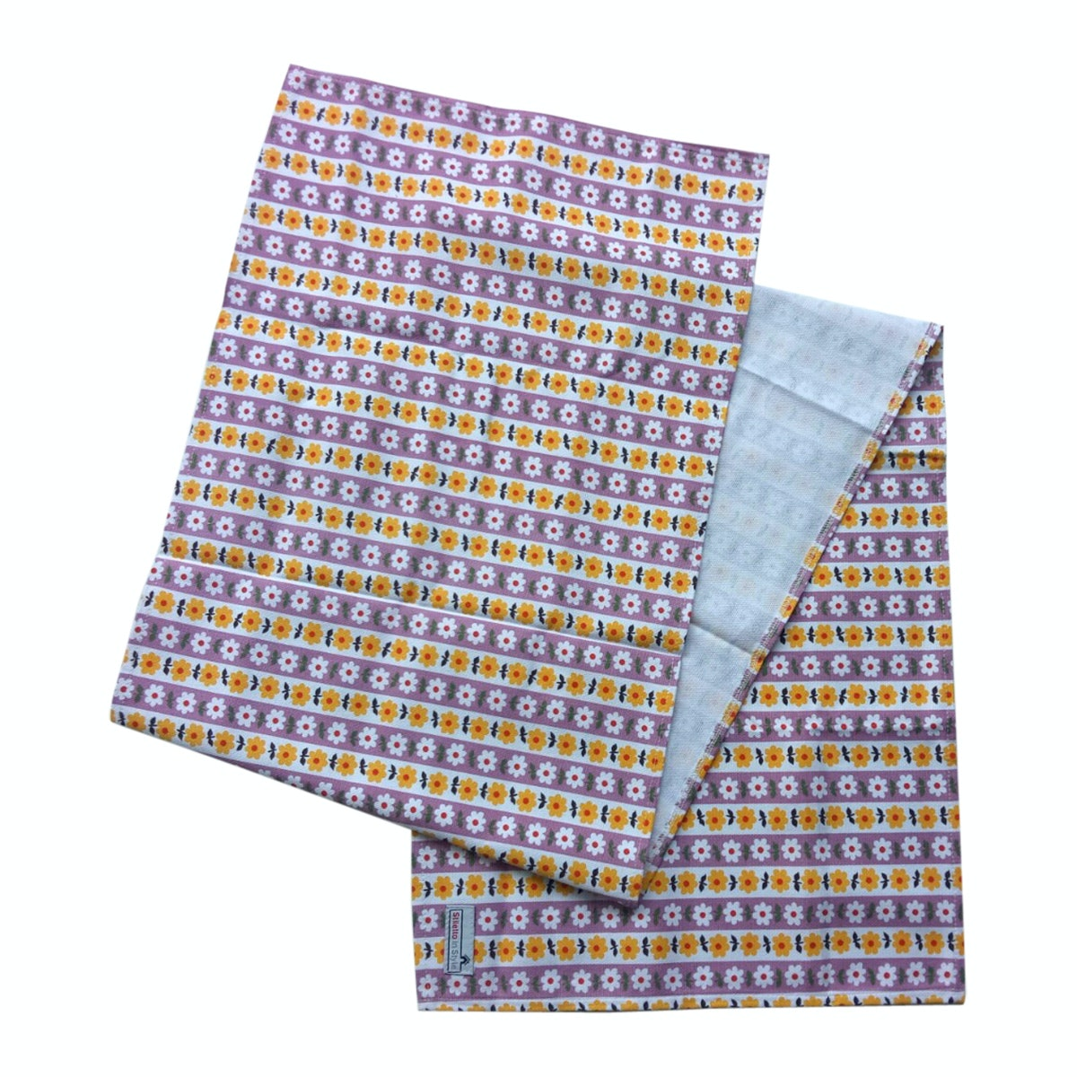 Stiletto Living Table Runner / Taplak Meja - Bunga Rampai Kuning