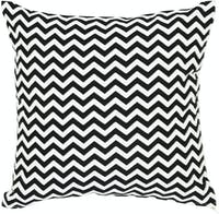 Stiletto Living Cushion Cover / Sarung Bantal - Black Chevron