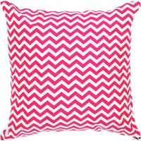 Stiletto In Style Cushion Cover / Sarung Bantal - Pink Chevron