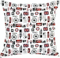 Stiletto In Style Cushion Cover / Sarung Bantal - London