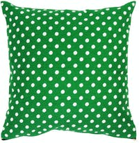Stiletto In Style Cushion Cover / Sarung Bantal - Polkadot Hijau