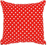 Stiletto In Style Cushion Cover / Sarung Bantal - Polkadot Merah