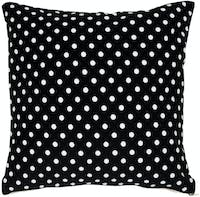 Stiletto In Style Cushion Cover / Sarung Bantal - Polkadot Hitam