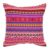 Stiletto Living Cushion Cover / Sarung Bantal - Tribal Ungu