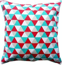 Stiletto Living Cushion Cover / Sarung Bantal - Triangle Tosca Red