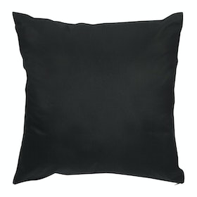 Stiletto Living Cushion Cover / Sarung Bantal Sofa Polos - Black