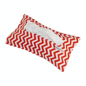 Stiletto Living Tempat Tisu - Red Chevron