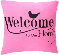 Stiletto In Style Cushion Cover Welcome Home 40 X 40Cm