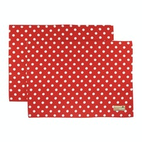 Stiletto In Style Placemat Polkadot Merah