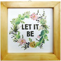 Stiletto In Style Wall Decor / Mini Poster Printing - 15 X 15 - Let It Be
