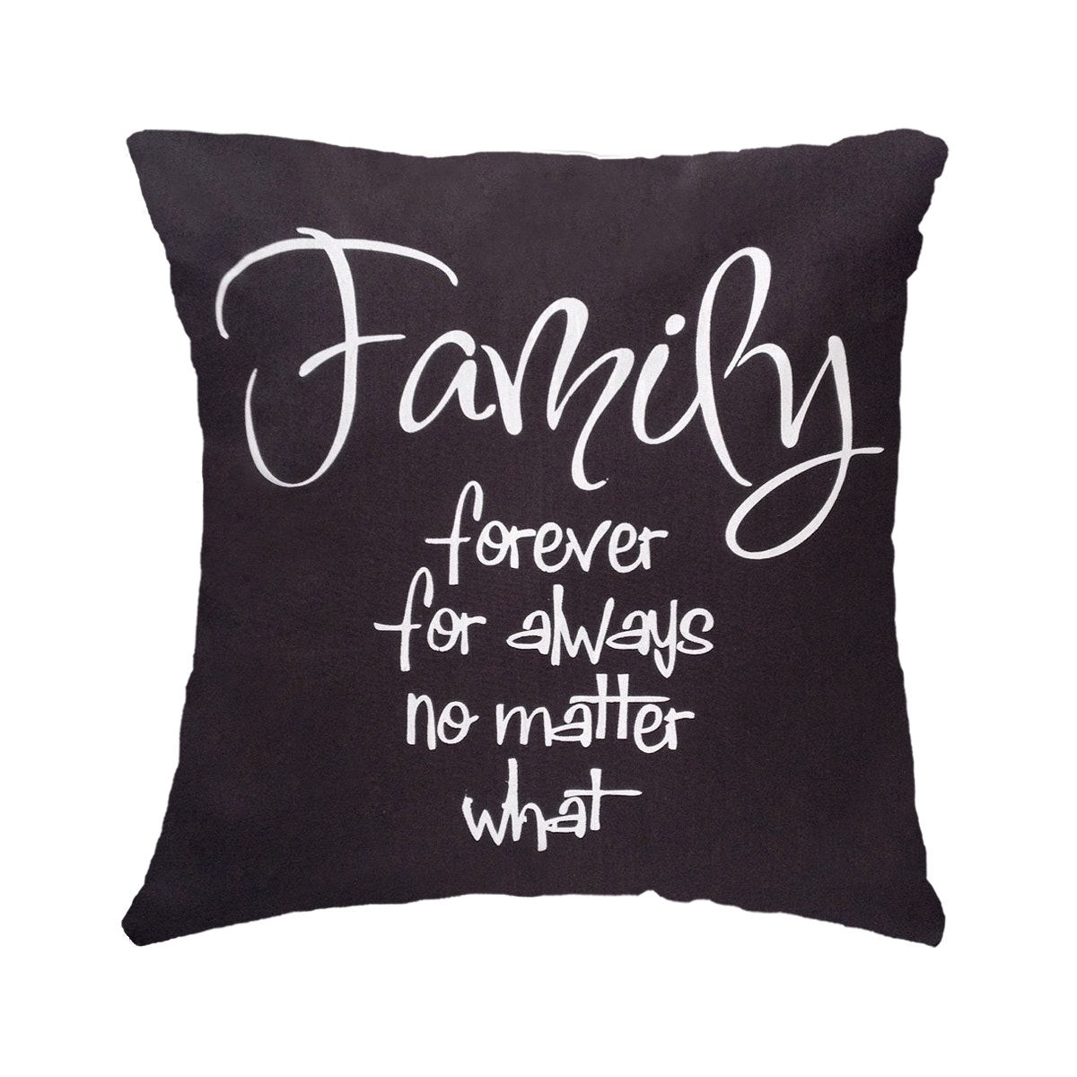 Stiletto In Style Cushion Cover Family Forever 40 X 40Cm