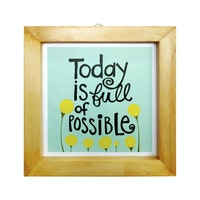 Stiletto In Style Wall Decor / Mini Poster Printing - 15 X 15 - I'M Possible