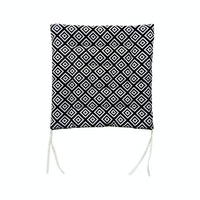 Stiletto Living Chair Pad / Alas Kursi - Black Mexican