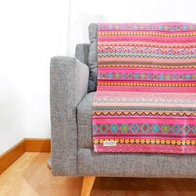 Stiletto In Style Canvas rug / Karpet standar - Tribal Merah muda
