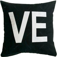 Stiletto Living Sarung Bantal Quote - Ve Hitam 40X40cm