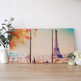 Stiletto In Style Wall Decor / Poster Printing / Poster 3In1 - Eiffel