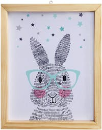 Stiletto In Style Wall Decor / Poster Printing - 25 X 30 - Rabbit