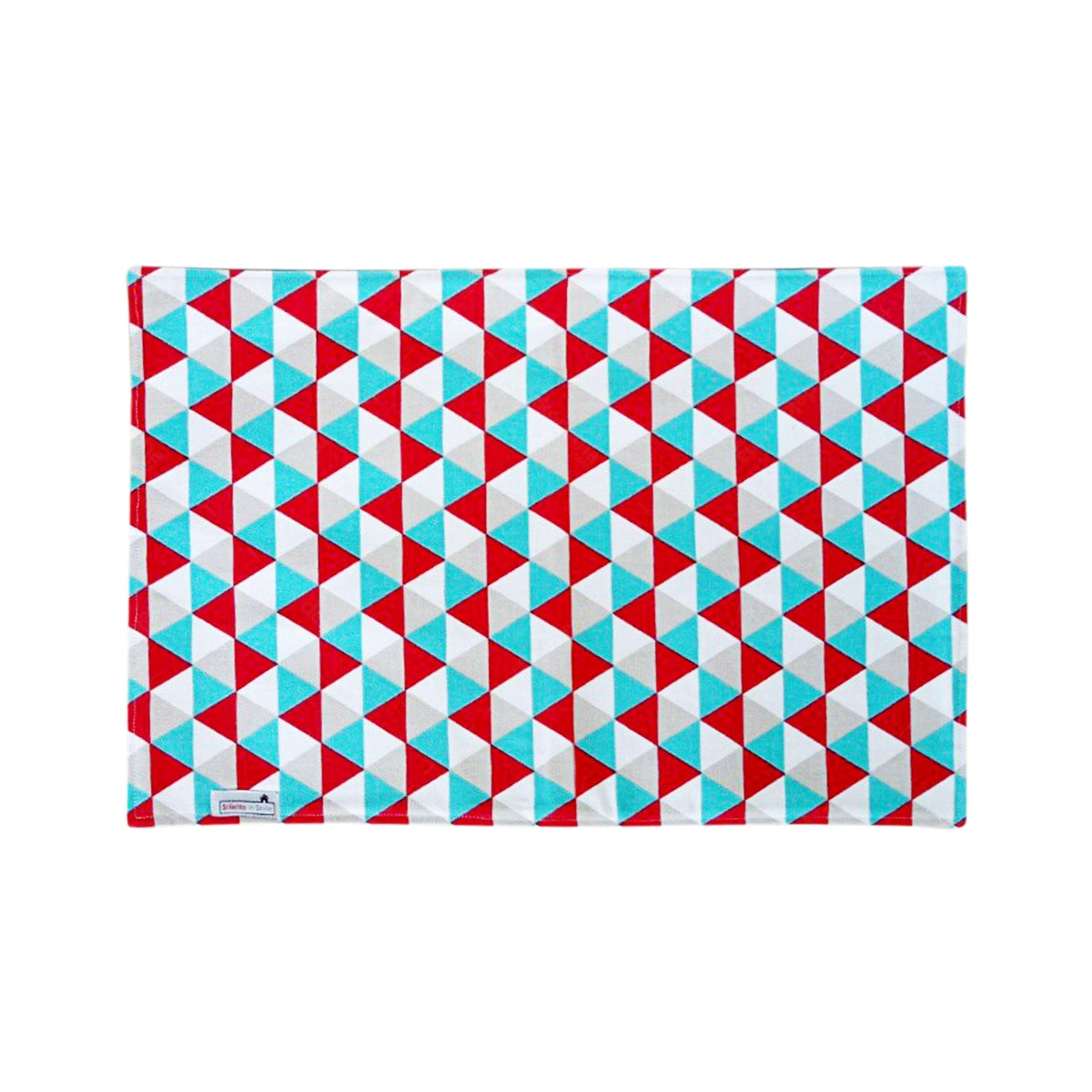 Stiletto Living Doormat / Keset- Triangle Tosca Red