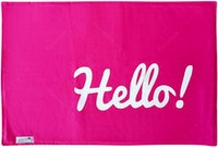 Stiletto Living Doormat / Keset- Hello Pink
