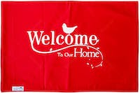 Stiletto Living Doormat / Keset- Welcome Home Merah