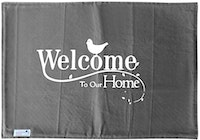Stiletto Living Doormat / Keset- Welcome Home Abu