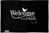 Stiletto Living Doormat / Keset- Welcome Home Hitam