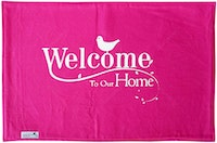 Stiletto Living Doormat / Keset- Welcome Home Pink